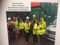 Seasonmaster win Safety Award